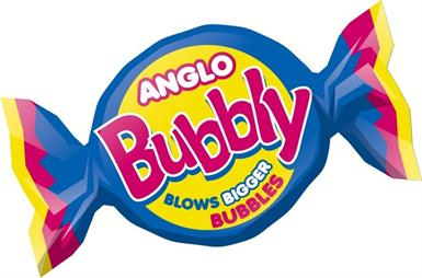 Anglo Bubbly Original 80s Bubblegum Traditional Old