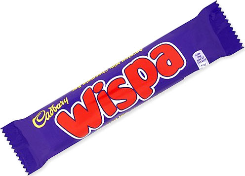 Wispa Bar Traditional Sweets From The Uks Original