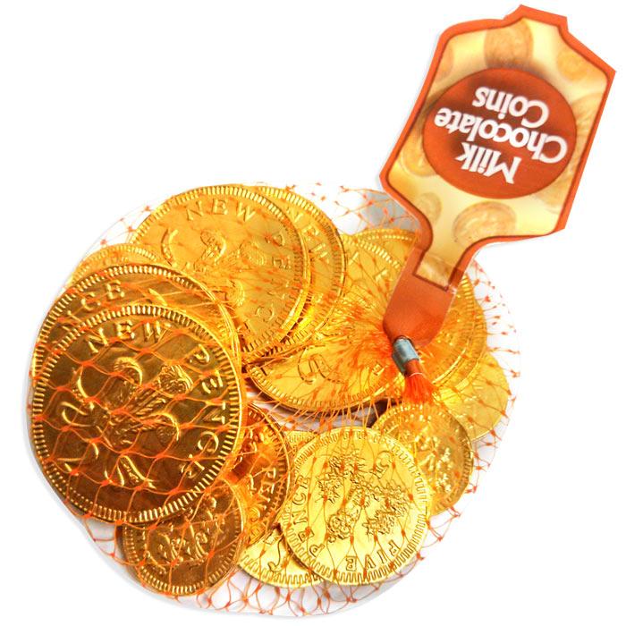 Bulk Chocolate Coins 30 X 50grams Christmas Chocolate