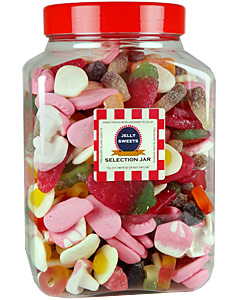 Jelly Mix Selection Jar Sweet Jars Filled With