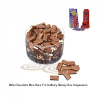 Mini Chocolate Bars For Cadbury Money Box Machines