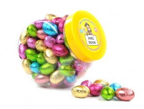 Mini Chocolate Easter Egg Sweet Jar