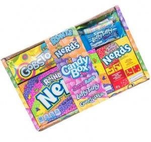 American Candy Nerds Wonka Hamper