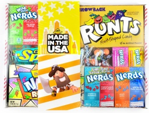 American Nerds Candy Tray Hamper
