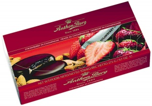 Anthon Berg Strawberry and Champagne Liqueurs
