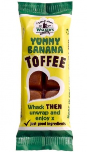 Walkers Banana Toffee Bar 50g x 24pcs