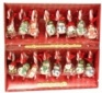 Candy Canes with Figurines
