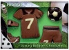 Chocolate Football Set (Belgian Milk Chocolate)