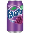 Fanta Grape USA Soda Can 355ml