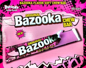 Bazooka Chew Bar