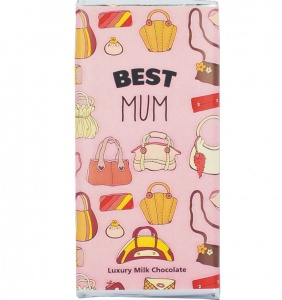 Best Mum Luxury Milk Chocolate Bar