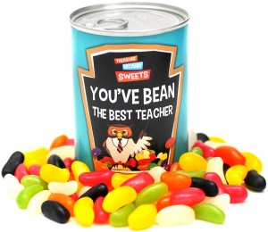 You've 'Bean' The Best Teacher - Gift Can Of Jelly Beans For Teachers