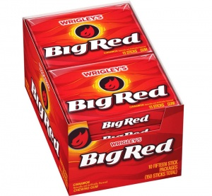 Big Red Cinnamon Chewing Gum