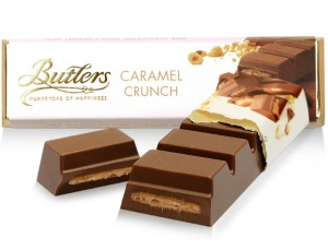 Butlers Caramel Crunch Chocolate Truffle Bar 75g