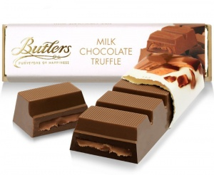 Butlers Milk Chocolate Truffle Bar 75g