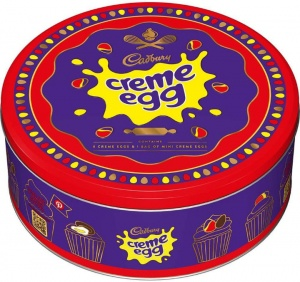 Cadbury Creme Eggs Gift Tin For Easter