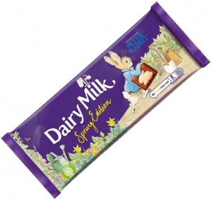 Cadbury Dairy Milk Spring Time Peter Rabbit Edition 100g