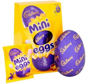 Cadbury Mini Egg Easter Egg 130g