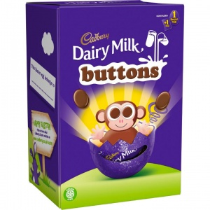 Cadbury Dairy Milk Button Easter Egg (74g)