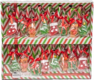 Candy Cane Tree Decorations 16pcs