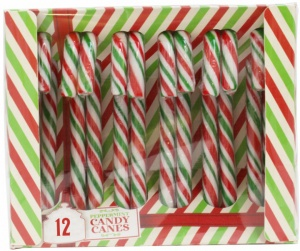 Candy Canes Single Box Of 12 Canes
