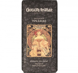 Amatller 70% Cocoa - Dark Chocolate Bar 85g (from Barcelona)