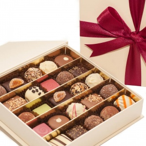 Valentines Belgian Chocolate Gift Box