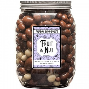 Fruit & Nut Chocolate Selection Jar