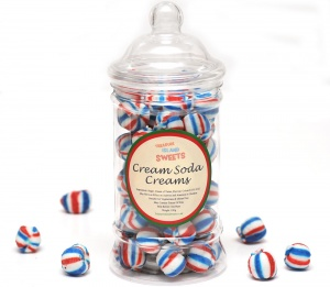 Cream Soda Creams (Hand-Made) - Victorian Sweet Jar