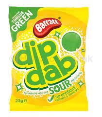 Dip Dab Sour Apple Flavour New By Barratt