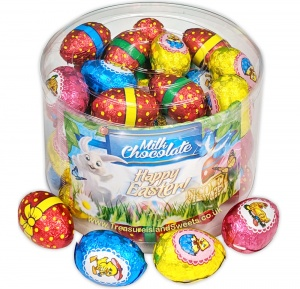 Easter Eggs Bulk Tub Of 50