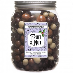 Festive Fruit & Nut Assortment Jar
