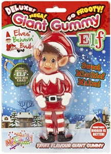 Giant Gummy Elf