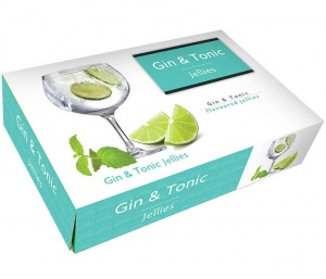 Gin And Tonic Jellies 175g Gift Box