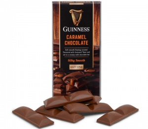 Guinness Caramel Chocolate Bar 90g