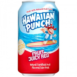 Hawaiian Punch 'Fruit Juicy Red' 355ml USA Soda Can