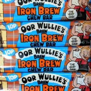 Iron Brew Chew Bars