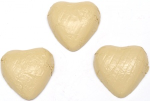 Ivory Chocolate Hearts X 180 - BEST BEFORE END OF SEPT 2020