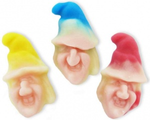 Halloween Jelly Witches Heads