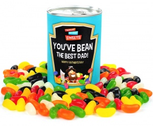 Father's Day Jelly Bean Gift Can (You've Bean The Best Dad)