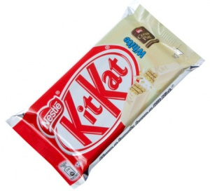 KitKat White Chocolate 4 Finger