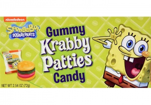 Krabby Patties Theatre Box  USA Candy