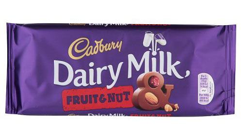 Cadbury Dairy Milk Fruit and Nut Bar 200gram