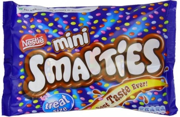 Mini Smarties Party Boxes 18pcs