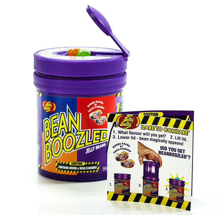 jelly belly bean boozled dispenser treasure island sweets. Black Bedroom Furniture Sets. Home Design Ideas