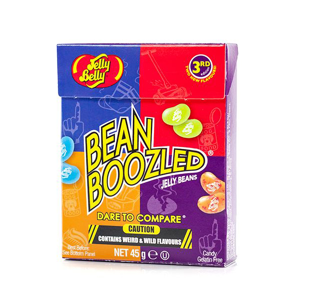 Jelly Belly Bean Boozled 45g Box - BEST BEFORE 08.10.20