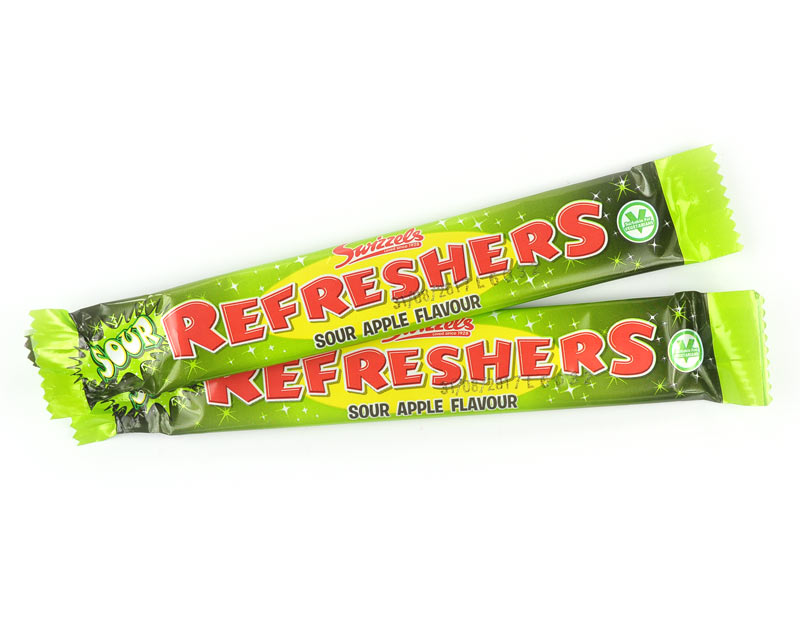 Refresher Bars Sour Apple
