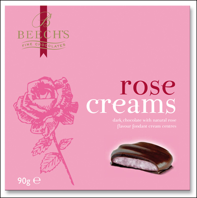 Rose Creams Gift Box 90g (Best Before End Dec 2019)
