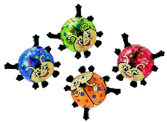 Multi Coloured Ladybirds Chocolate