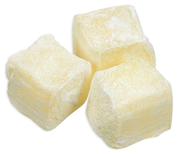 Lemon Turkish Delight